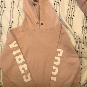 SALE‼️ FOREVER 21 'GOOD VIBES' HOODIE